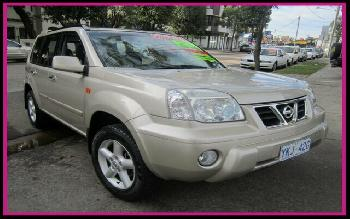 2002 Nissan X-Trail Ti LUXURY (4x4) T30